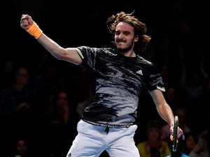 Stefanos Tsitsipas defeats Daniil Medvedev at sixth time of asking