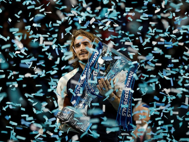Stefanos Tsitsipas sets sights on grand slam glory after winning ATP Finals