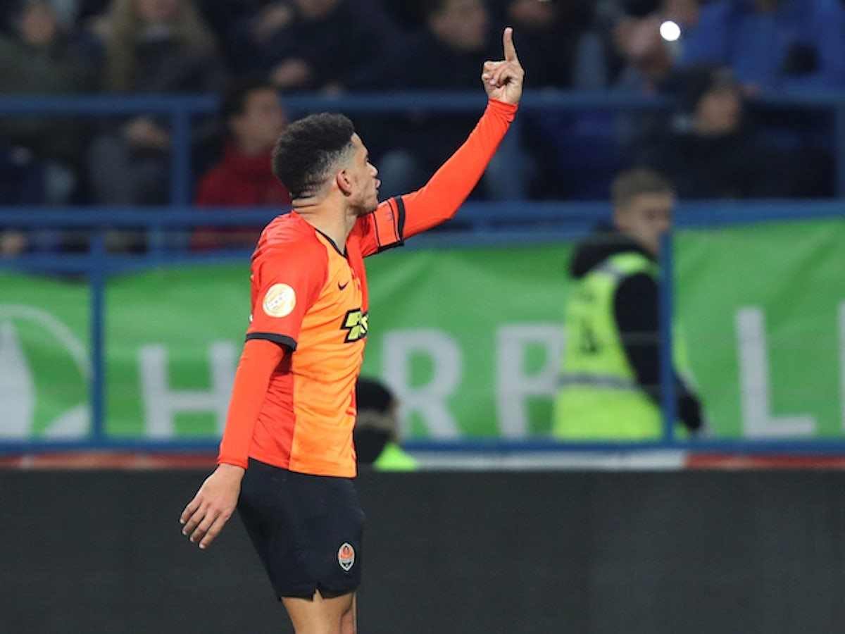 Image result for Brazilian midfielder Taison handed one match ban for reacting to racist abuse