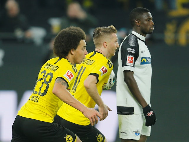 Result: Borussia Dortmund fight from three goals down to rescue draw