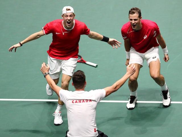 Result: Canada beat Australia to reach Davis Cup semi-finals
