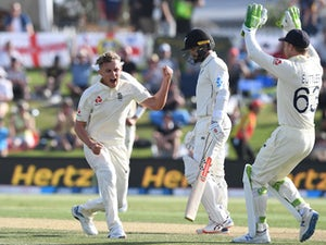 England bowlers fight back on day two of first Test in New Zealand