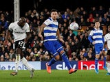 Fulham's Aboubakar Kamara scores against QPR in the Championship on November 22, 2019