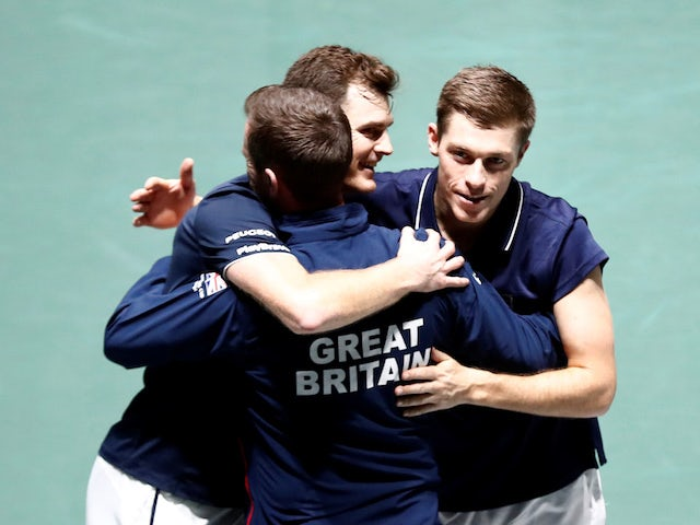 Great Britain set up Davis Cup quarter-final with Germany