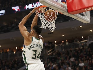 NBA roundup: Giannis Antetokounmpo leads Milwaukee Bucks to sixth straight win