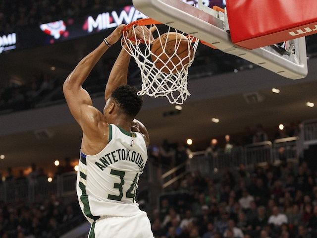 NBA roundup: Giannis Antetokounmpo leads Milwaukee Bucks to sixth straight win