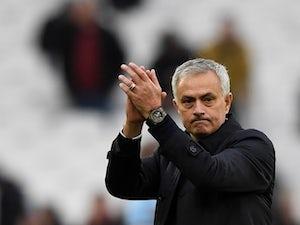 Tottenham Hotspur manager Jose Mourinho applauds fans after the match on November 23, 2019