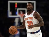 New York Knicks forward Julius Randle (30) in action against the Cleveland Cavaliers during the first half at Madison Square Garden on November 19, 2019