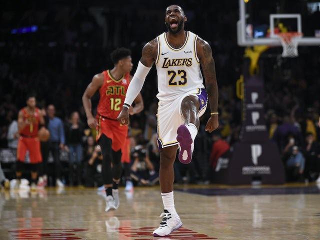 NBA roundup: LeBron James stars as Lakers make their best start in eight seasons