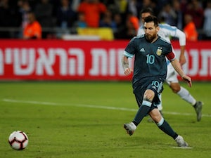 Six of the best: Messi chalks up another landmark