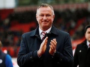 "Michael O'Neill hails ""great start"" to Stoke reign"