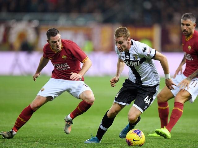 Parma midfielder Dejan Kulusevski in action in November 2019