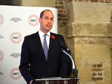 Prince William pictured in November 2019