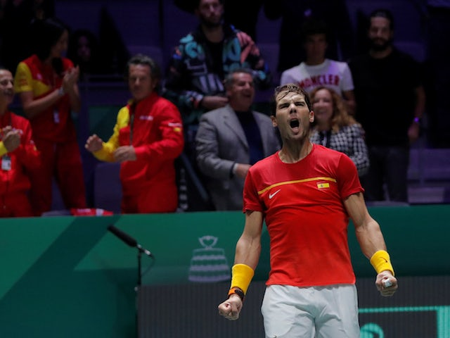 Result: Rafael Nadal levels things up for Spain against Great Britain