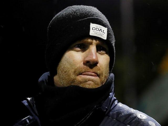 Harrogate manager Simon Weaver pictured in November 2019
