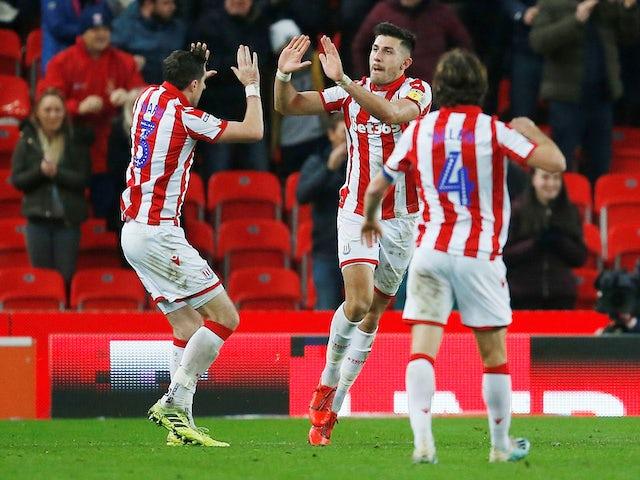 Result: Stoke strike late to earn Wigan win