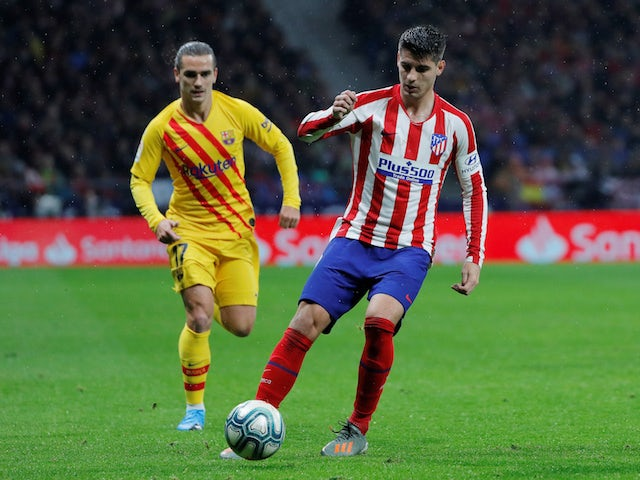 Atletico 'obliged to pay £48m for Morata'