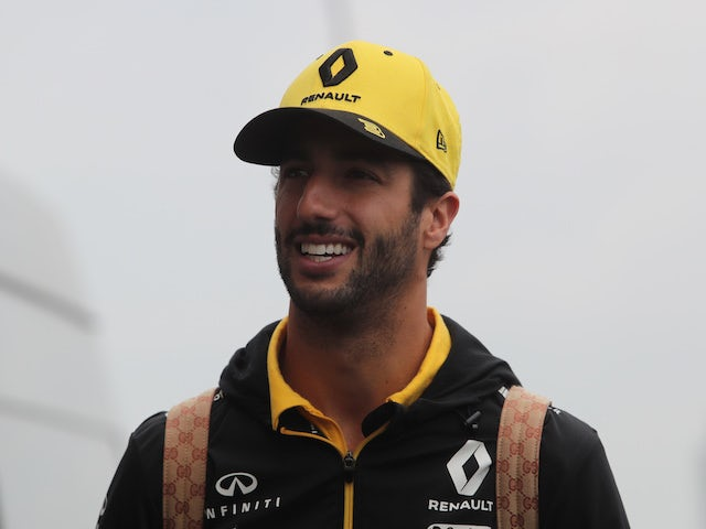 Ricciardo insists Abiteboul relationship 'cool'