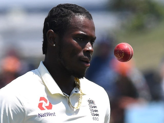 England bowler Jofra Archer issues apology after being ruled out of second Test