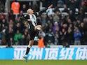 Jonjo Shelvey celebrates his late equaliser for Newcastle on November 30, 2019