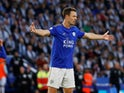Leicester City defender Jonny Evans pictured in October 2019