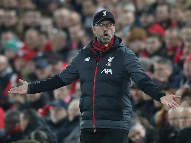 Liverpool manager Jurgen Klopp pictured on November 27, 2019