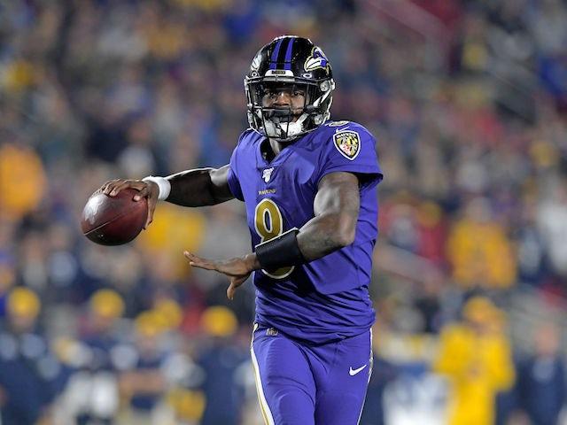 Result: Lamar Jackson throws five touchdowns as Baltimore Ravens hammer LA Rams