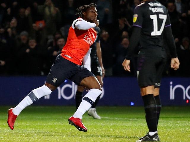 Result: Luton beat Charlton to end five-match losing streak