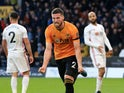 Matt Doherty celebrates equalising for Wolves on December 1, 2019