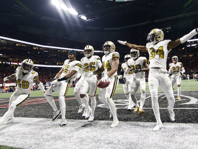 Result: New Orleans Saints seal NFC South title with win over Atlanta Falcons