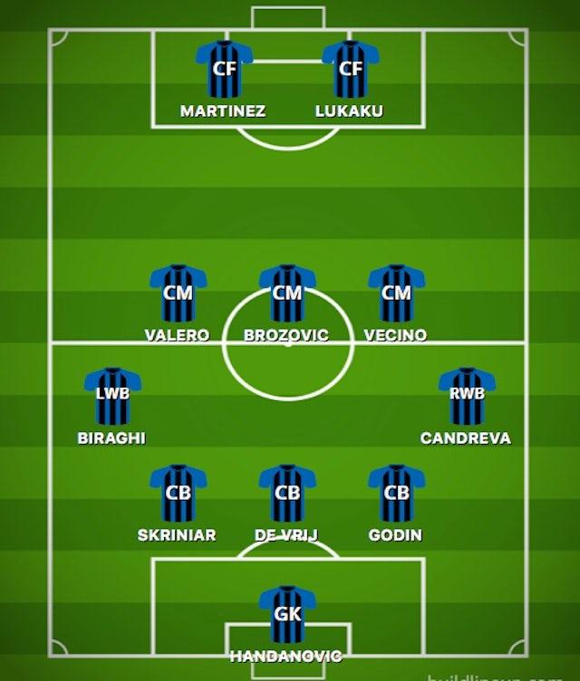 POSS INT XI vs. SPAL