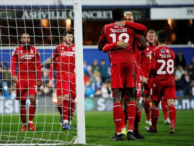 Result: Lewis Grabban brace fires Nottingham Forest past Hull