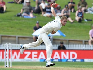 Late wickets take shine off England performance on day two in Hamilton