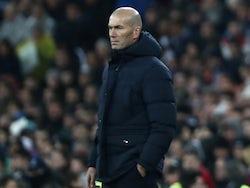 Real Madrid boss Zinedine Zidane pictured on November 26, 2019