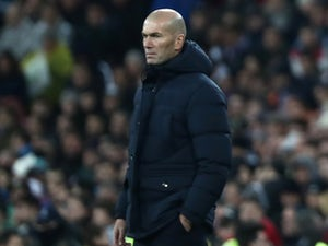 "Zinedine Zidane expecting ""very difficult"" game from Real Zaragoza"