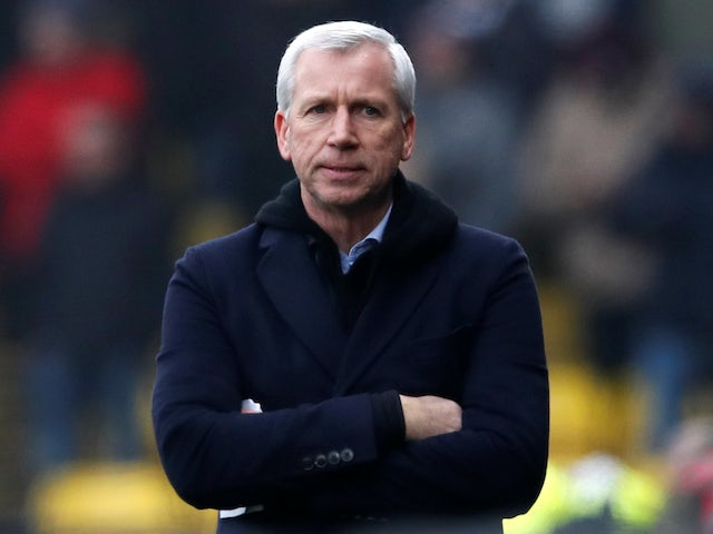 Alan Pardew pictured in March 2018