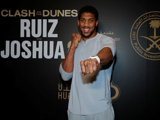 Anthony Joshua recalls GB exile for cannabis possession