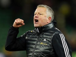 Sheffield United manager Chris Wilder on December 8, 2019