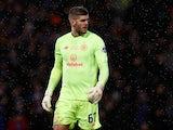 Celtic goalkeeper Fraser Forster pictured on December 8, 2019