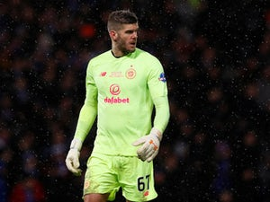 "Fraser Forster admits he was ""very fortunate"" to save Alfredo Morelos penalty"