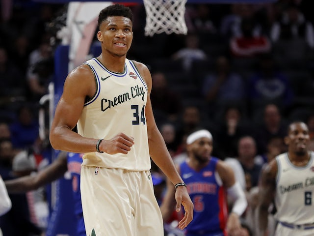 NBA roundup: Giannis Antetokounmpo leads Milwaukee Bucks to 13th straight win