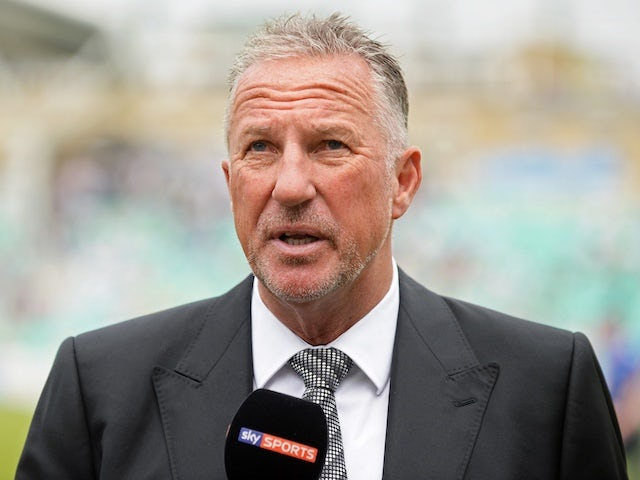 Sir Ian Botham pays tribute to