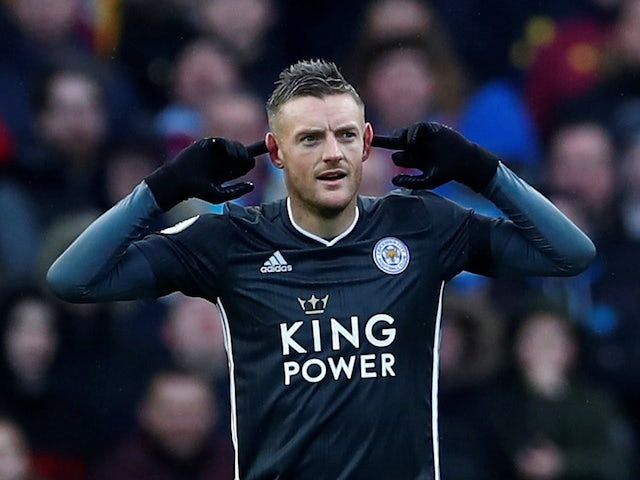 Jamie Vardy: 'Leicester deserve their position in the table'