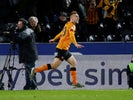 Jarrod Bowen celebrates scoring for Hull City on December 7, 2019