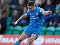 Johnny Sexton in action for Leinster on December 7, 2019