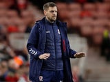 Middlesbrough manager Jonathan Woodgate on December 7, 2019