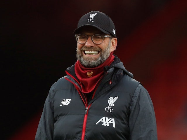 Liverpool manager Jurgen Klopp before the match on December 7, 2019