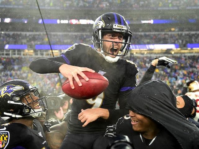 NFL roundup: Justin Tucker kicks Baltimore Ravens past San Francisco 49ers
