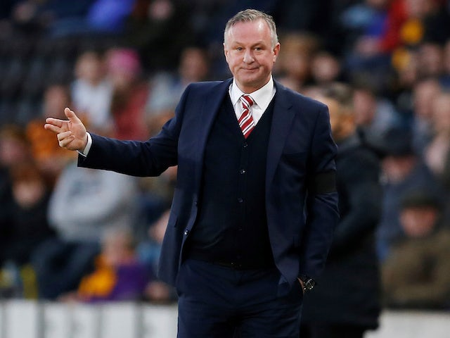 Michael O'Neill planning to trim Stoke squad next month