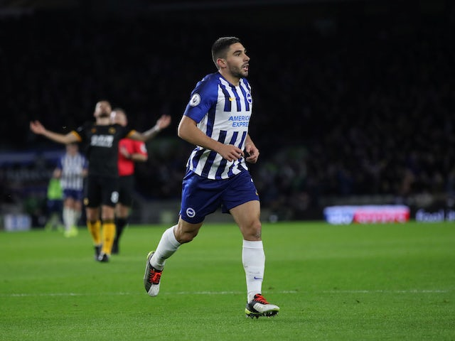 Neal Maupay: 'Scoring twice in a week is a good feeling'